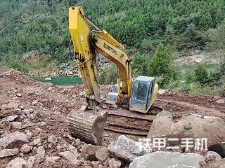 巴中住友SH240-5挖掘機實拍圖片