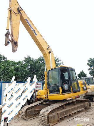廣州小松PC200-8挖掘機實拍圖片