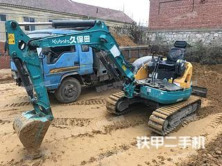 二手久保田 U30-5 挖掘机转让出售