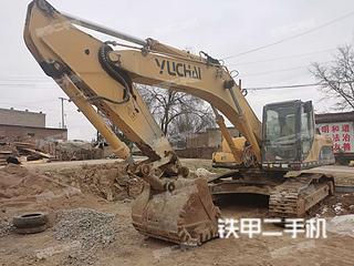 二手玉柴 YC360LC-8 挖掘机转让出售