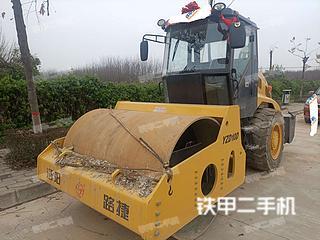 陕西-西安市二手洛阳路捷重工YZD10D压路机实拍照片
