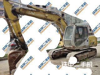 防城港住友SH120A2挖掘機實拍圖片