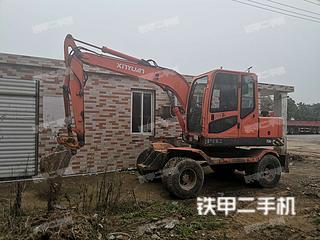 新源XY75W-8挖掘機實拍圖片