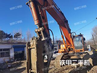 秦皇島斗山DH500LC-7挖掘機實拍圖片