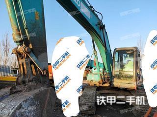 天津神鋼SK200-8挖掘機實拍圖片