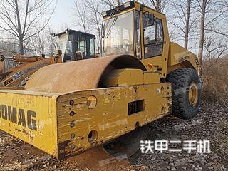 河北-石家庄市二手宝马格25D-3压路机实拍照片