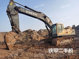 太原沃爾沃EC460BLC挖掘機實拍圖片