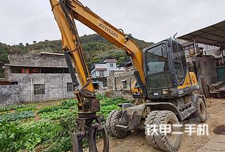 广西-来宾市二手新源XY75W-9挖掘机实拍照片