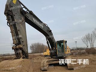 北京沃爾沃EC460BLC挖掘機實拍圖片