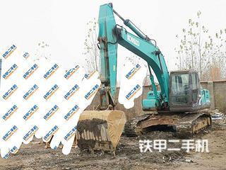 山东-济宁市二手神钢SK210LC-8挖掘机实拍照片
