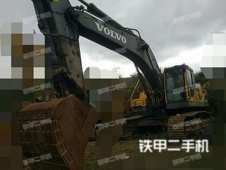 贵州-毕节市二手沃尔沃EC360BLC挖掘机实拍照片