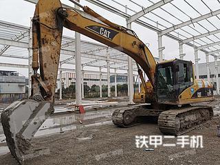 南京卡特彼勒320CL挖掘機實拍圖片