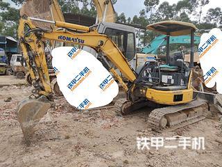廣州小松PC30MR-2挖掘機實拍圖片
