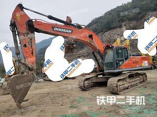 百色斗山DX380LC-9C挖掘機實拍圖片