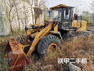 寶雞龍工LG855D裝載機實拍圖片