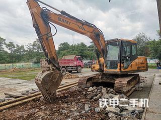 湖南-怀化市二手三一重工SY135C挖掘机实拍照片