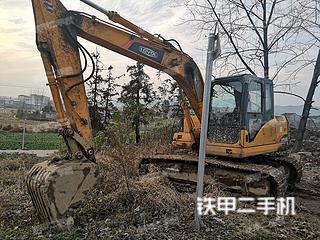 雷沃重工FR170挖掘機實拍圖片