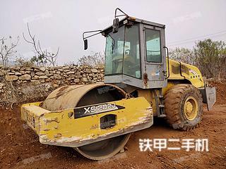 山东-枣庄市二手徐工XS202J压路机实拍照片
