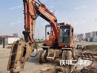 斗山DH150W-7挖掘機實拍圖片
