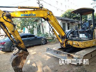 廣州小松PC40MR-2挖掘機實拍圖片