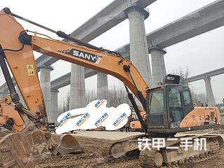 河南-郑州市二手三一重工SY235C挖掘机实拍照片