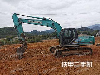 神鋼SK200-6E挖掘機實拍圖片
