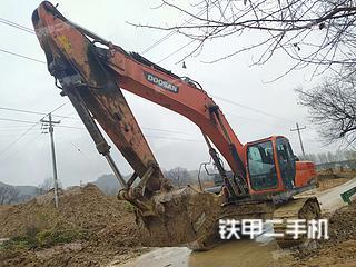 斗山DX340LC-9C挖掘機實拍圖片