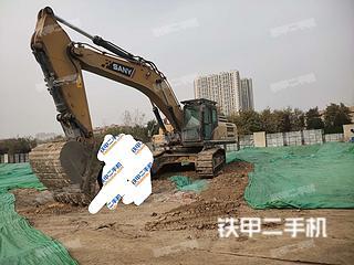 寶雞三一重工SY375H挖掘機實拍圖片