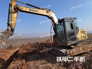 秦皇島三一重工SY65C挖掘機實拍圖片