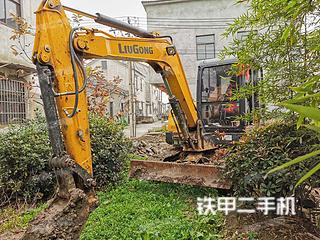 南京柳工CLG906E挖掘機實拍圖片