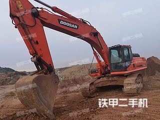 秦皇島斗山DX380LC挖掘機實拍圖片
