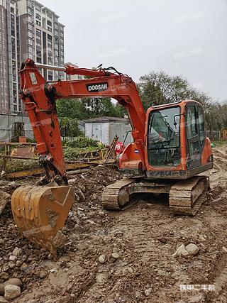 陕西-汉中市二手斗山DX80挖掘机实拍照片