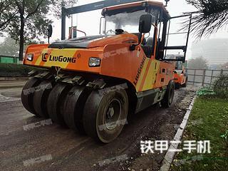 陕西-咸阳市二手柳工CLG6530E压路机实拍照片