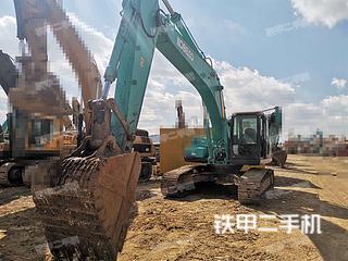 百色神鋼SK260LC-8挖掘機實拍圖片