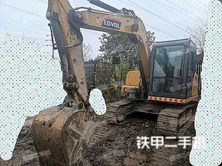 雷沃重工FR80E挖掘機實拍圖片