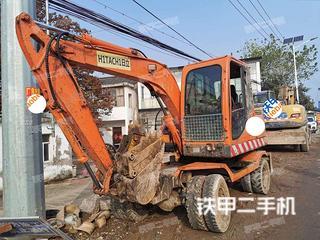 北京新源XY65W-8挖掘機實拍圖片