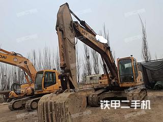 銀川現代R225LC-7挖掘機實拍圖片