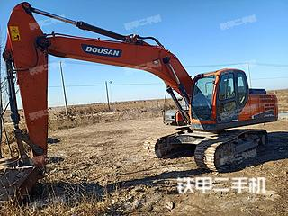 濱州斗山DX215-9C挖掘機實拍圖片