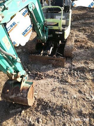 北京洋馬Vio17挖掘機實拍圖片