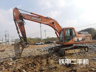 江苏-南京市二手斗山DH215-9E挖掘机实拍照片