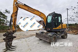 北京新源XY75W-9挖掘機實拍圖片
