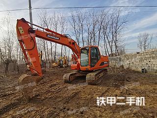 北京斗山DH150LC-7挖掘機實拍圖片