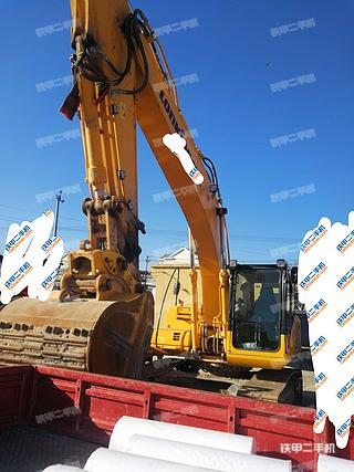 北京龍工LG6225挖掘機實拍圖片