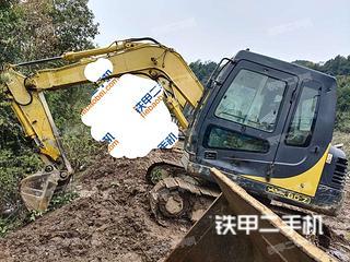 巴中現代R80-7挖掘機實拍圖片