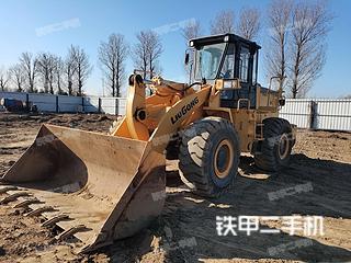 北京柳工CLG855N裝載機實拍圖片