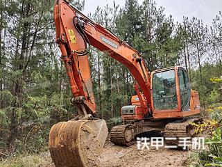 巴中斗山DX150LC挖掘機實拍圖片