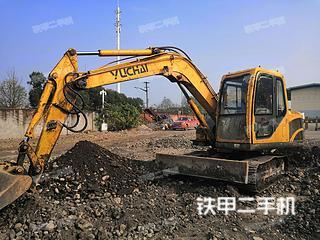 保定玉柴YC85-8挖掘機實拍圖片