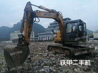 贵州-黔东南苗族侗族自治州二手柳工CLG908D挖掘机实拍照片