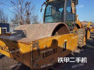 北京-北京市二手龙工LG523B6压路机实拍照片
