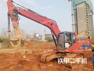 保定玉柴YC210LC-8挖掘機實拍圖片